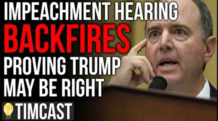 Impeachment Hearing BACKFIRES On Democrats Potentially Proving Trump Right, Even CNN Notes Problems