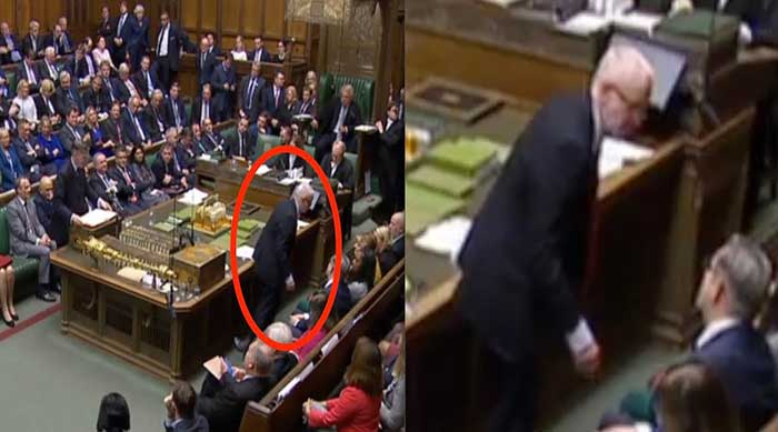Rees-Mogg savages Jeremy Corbyn as he storms off from Commons seat: 'Running away from election!'
