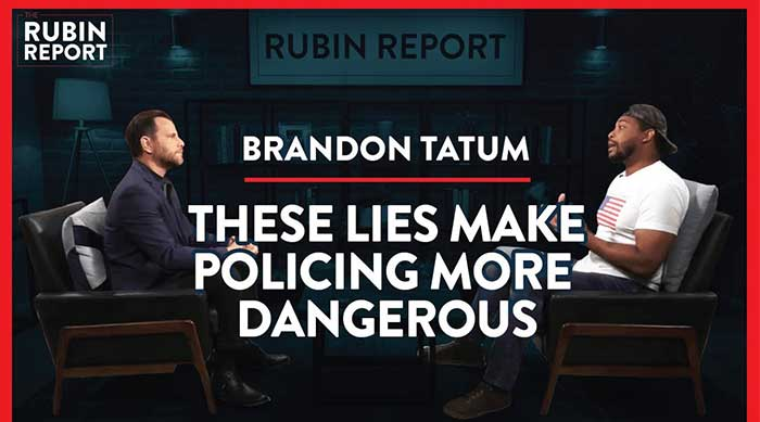 Ex-Police Officer Brandon Tatum Exposes the Reality of Race & Policing | Rubin Report