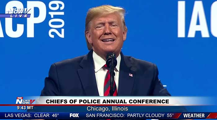 Full Speech: President Trump Addresses Chiefs of Police Conference in Chicago