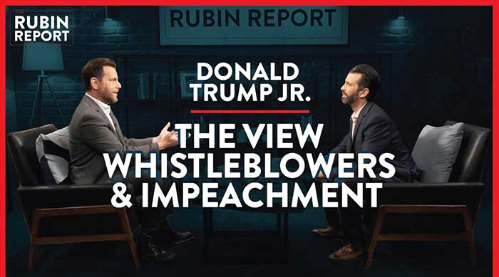 The View, Whistleblowers, & Trump Impeachment Inquiry | Donald Trump Jr. | Rubin Report