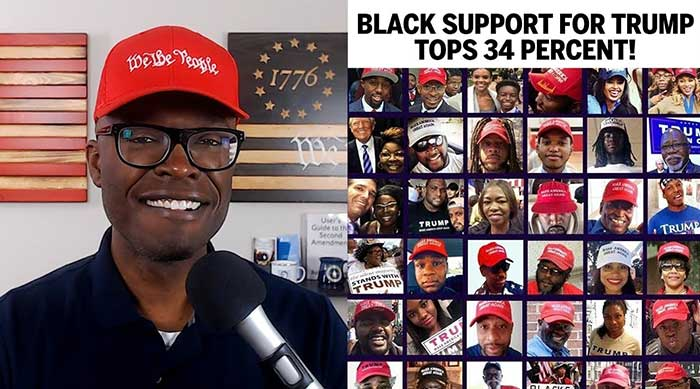 Black Support For Trump Polled At 34 Percent!