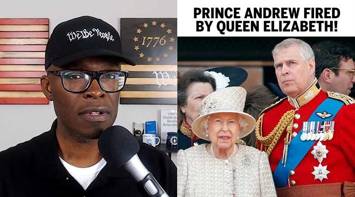 Prince Andrew FIRED By Queen Elizabeth Over Epstein Interview!