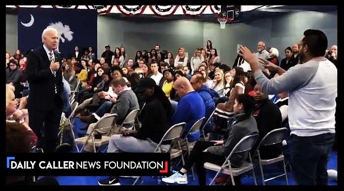 Audience Turns On Joe Biden