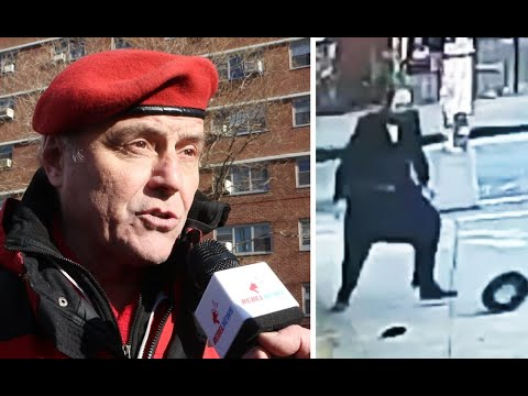 """Black antisemitism"" to blame for attacks: Guardian Angels founder at rally in NYC 