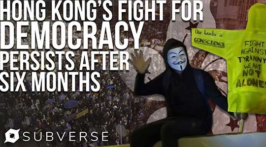 Thousands of Arrests Won't Stop Hong Kong Protests, Movement Hits Half Year