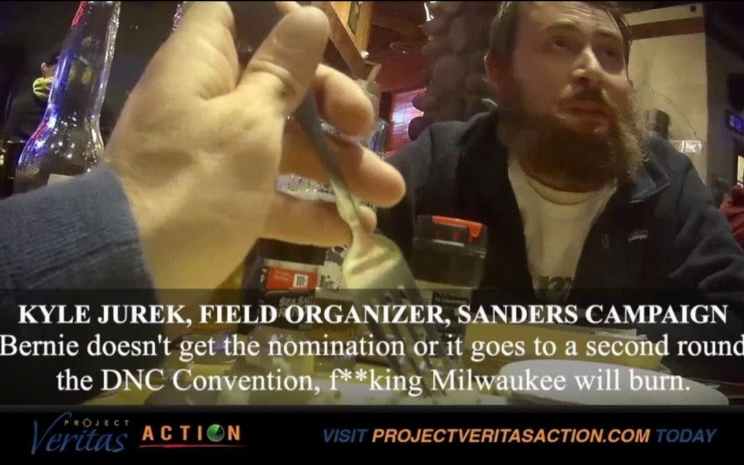 "#Expose2020: Sanders Campaign Part 1; Field Organizer ""F**king Cities Burn"" if Trump Re-Elected"