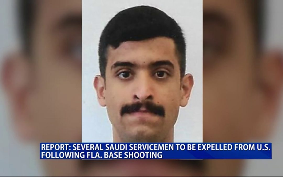 Report: Several Saudi servicemen to be expelled from U.S.