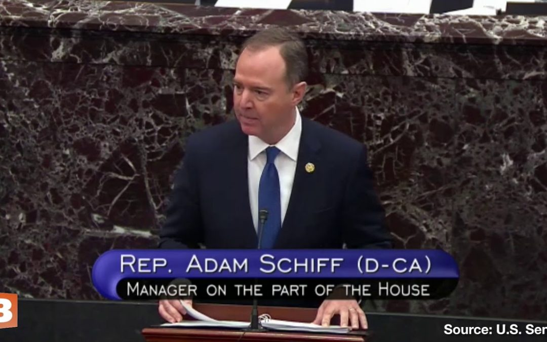 Adam Schiff Warns Donald Trump Could Give Alaska to the Russians if Not Impeached