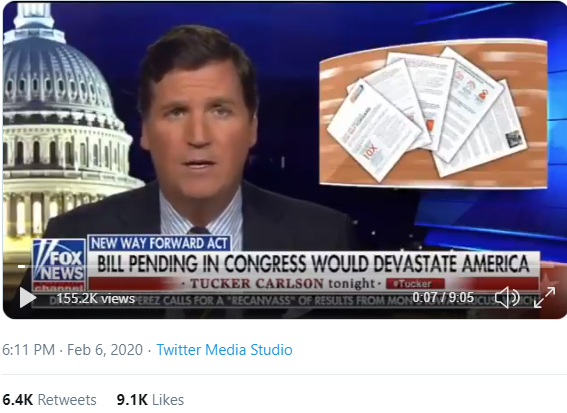 Tucker Unpacks the New Way Forward Act