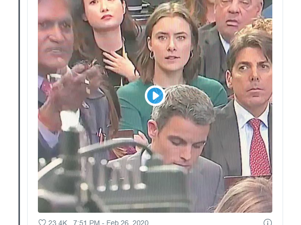 Journalist Caught Disrespecting Indian Reporter at White House Presser in Viral Clip