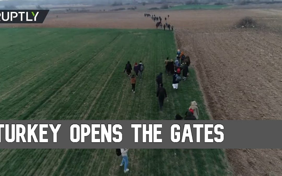 Migrants rush towards Europe after Turkey opens its border gates