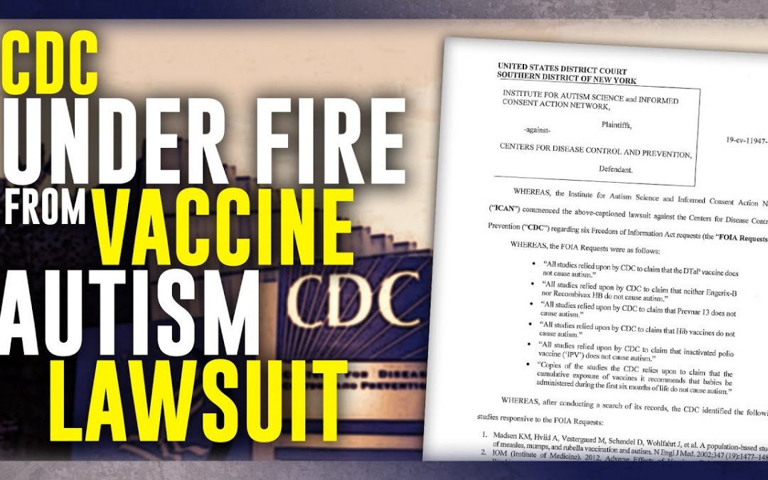 CDC Under Fire from Vaccine Autism Lawsuit