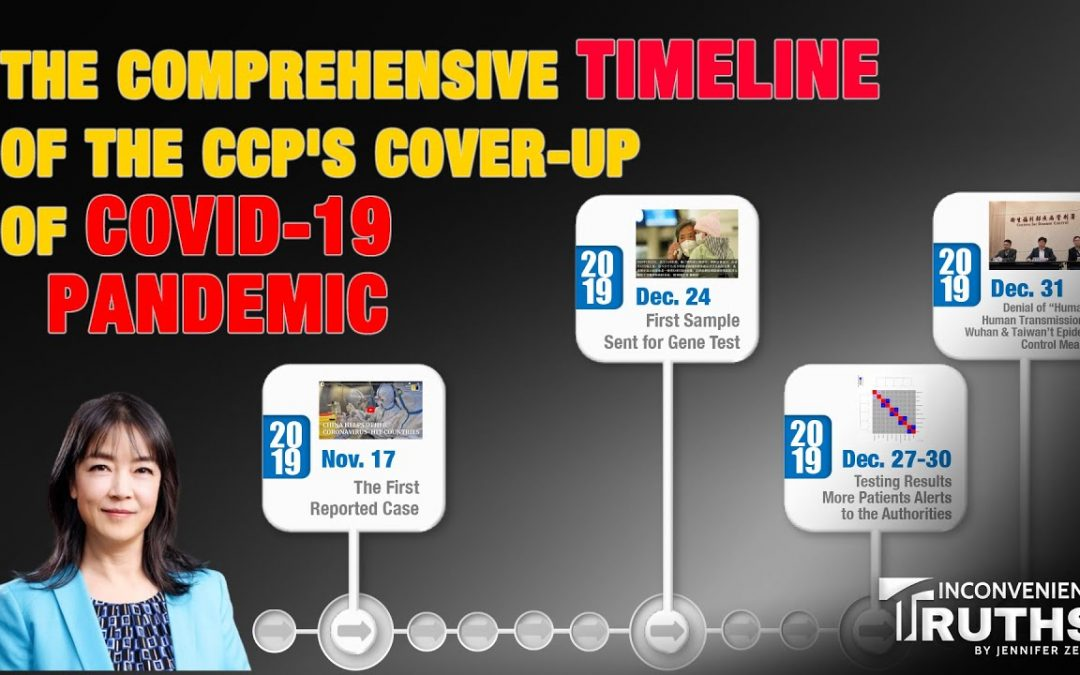 The Comprehensive Timeline of the CCP's Cover-up of COVID-19 Pandemic (1)