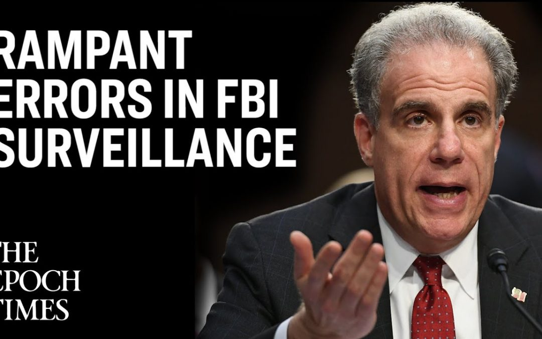 DOJ Inspector General Finds Rampant Errors in FBI Surveillance