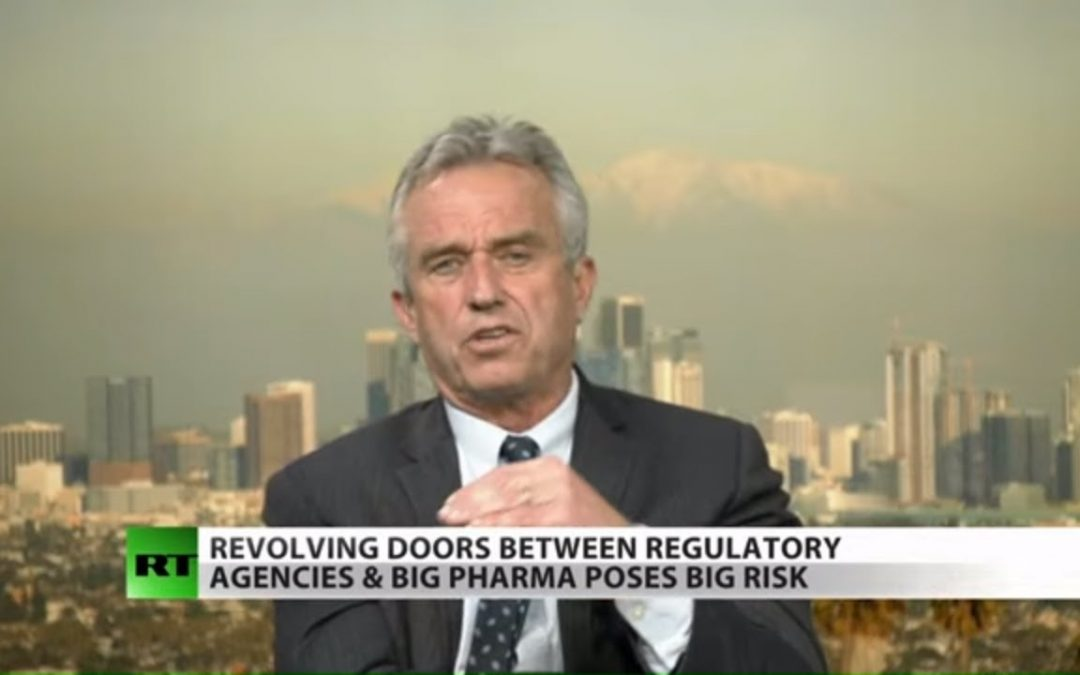 Robert Kennedy Jr slams WHO's sordid ties to Big Pharma