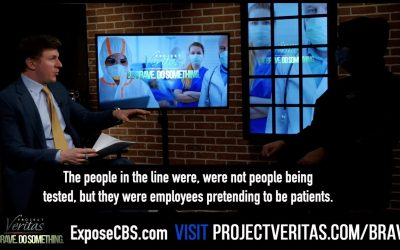 "#ExposeCBS Michigan Health Center Workers Stage ""Fake Patients"" in COVID-19 Testing Line for CBS News"