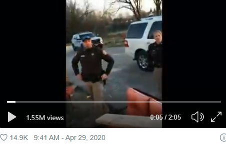 Wisconsin Deputies' Covid-Power-Trip Caught on Tape